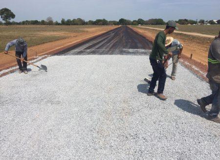 Pavimentação Asfáltica WorkShow Agropecuária
